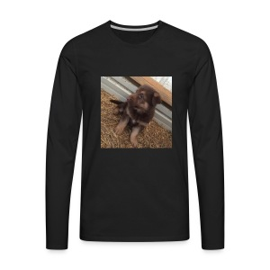 Kimber the dog - Men's Premium Long Sleeve T-Shirt