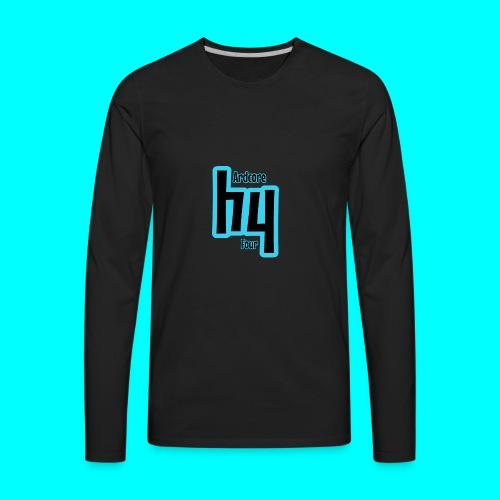 Original Hardcore 4 Design - Men's Premium Long Sleeve T-Shirt