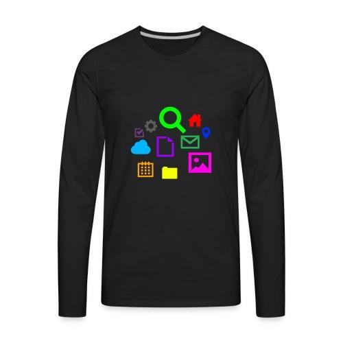 Internet - Men's Premium Long Sleeve T-Shirt