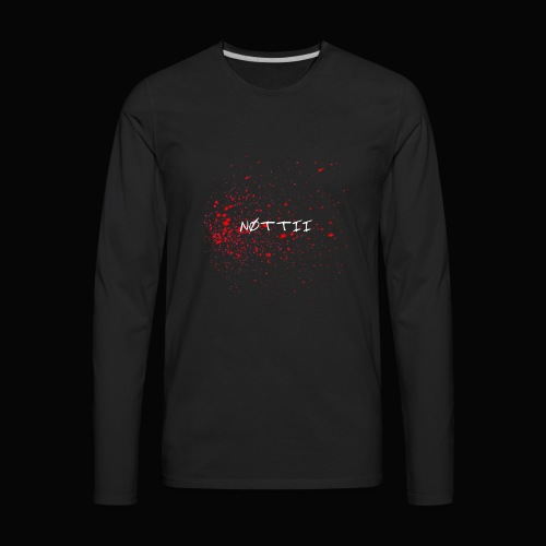 NØTTII - Men's Premium Long Sleeve T-Shirt
