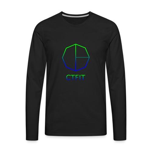 CTFIT PLUS LOGO - Men's Premium Long Sleeve T-Shirt