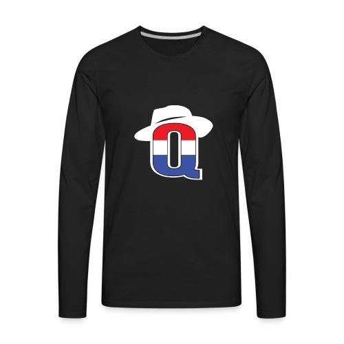 QbredWB - Men's Premium Long Sleeve T-Shirt