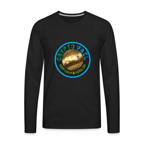 Crypto Vail T Shirt 1 - Men's Premium Long Sleeve T-Shirt