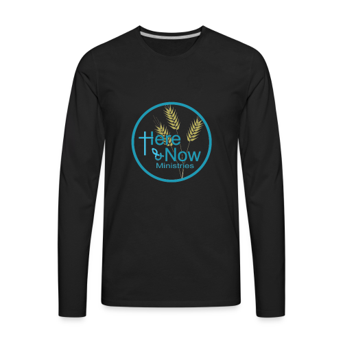 Here & Now - Men's Premium Long Sleeve T-Shirt