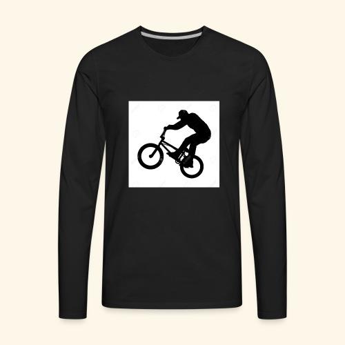 Rider silhouette - Men's Premium Long Sleeve T-Shirt