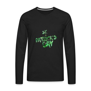 St Patrick's Day Holiday t-shirt - Men's Premium Long Sleeve T-Shirt