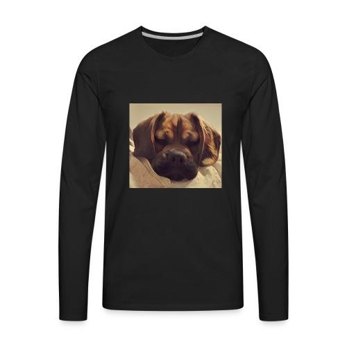 Smush Face - Men's Premium Long Sleeve T-Shirt