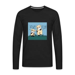 cow tales - Men's Premium Long Sleeve T-Shirt