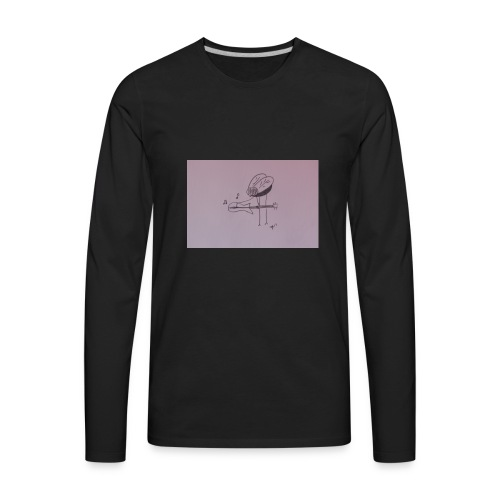 Fly Guitar - Men's Premium Long Sleeve T-Shirt