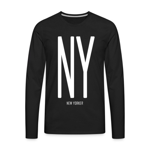 NEW YORKER - Men's Premium Long Sleeve T-Shirt