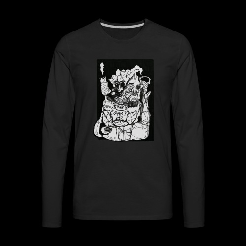 Wanted in Six Systems - Men's Premium Long Sleeve T-Shirt