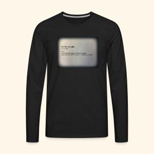 Keto - Men's Premium Long Sleeve T-Shirt