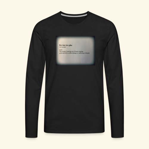 Keto - Men's Premium Long Sleeve T-Shirt