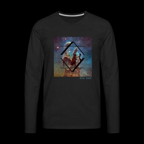 Afor Shirt Volk V1 - Men's Premium Long Sleeve T-Shirt