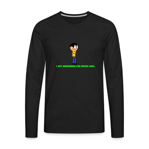shirt design 2 - Men's Premium Long Sleeve T-Shirt