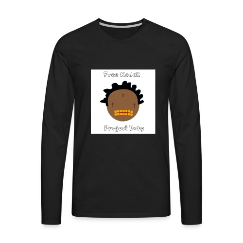 Free Kodak - Men's Premium Long Sleeve T-Shirt