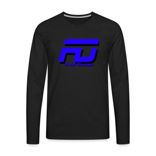 Avid Games Black - Men's Premium Long Sleeve T-Shirt