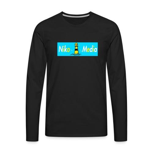 Niko Media T-shirts/Hoodies/CrewNecks - Men's Premium Long Sleeve T-Shirt