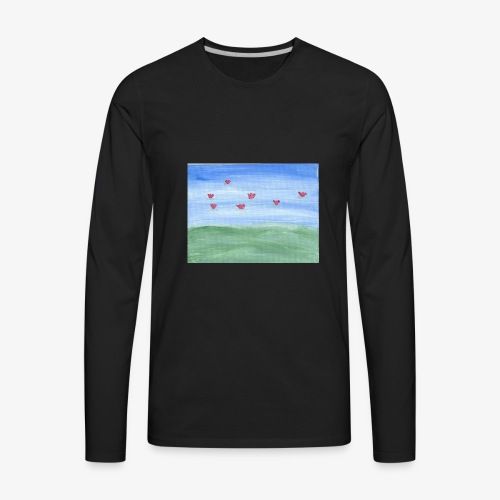 abstract nature - Men's Premium Long Sleeve T-Shirt