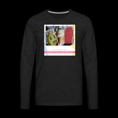 Guaranteed fresh or your money back - Men's Premium Long Sleeve T-Shirt