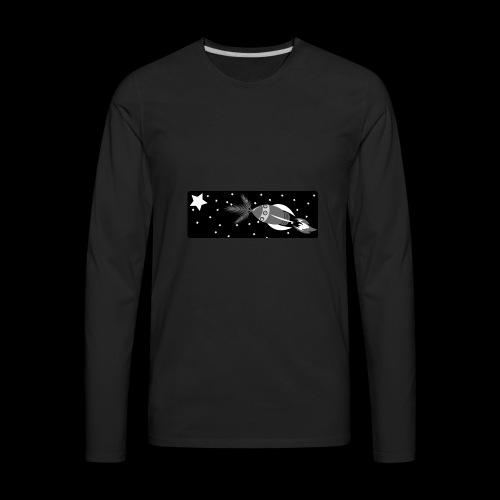 Deep Space John Logo - Men's Premium Long Sleeve T-Shirt
