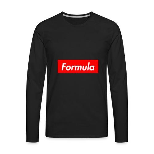 formula supreme - Men's Premium Long Sleeve T-Shirt