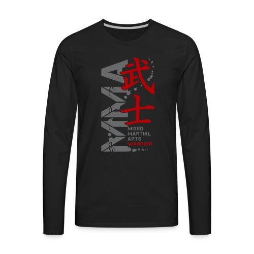 MMA WARRIOR - Men's Premium Long Sleeve T-Shirt