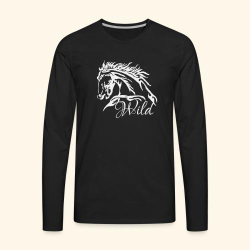 Wild As The Wind 3 - Siota - Men's Premium Long Sleeve T-Shirt