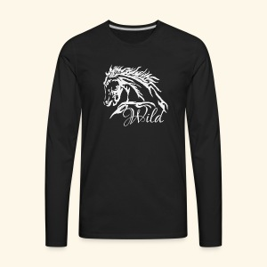 Wild As The Wind 3 - Siota - Men's Premium Long Sleeve T-Shirt