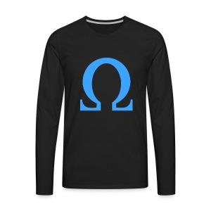 Omega (Ohm) - Men's Premium Long Sleeve T-Shirt