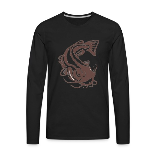 Big Flathead - Men's Premium Long Sleeve T-Shirt