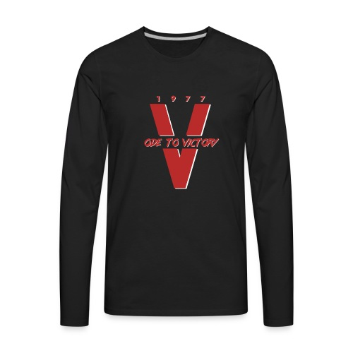 1977 Ode To Victory - Men's Premium Long Sleeve T-Shirt
