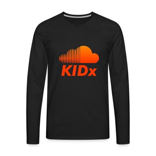 SOUNDCLOUD RAPPER KIDx - Men's Premium Long Sleeve T-Shirt