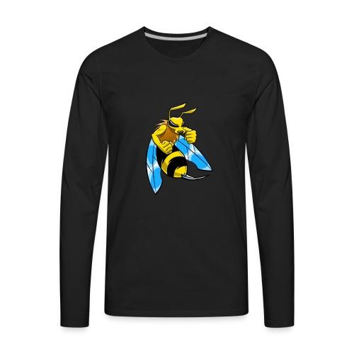 Bee Humble - Men's Premium Long Sleeve T-Shirt