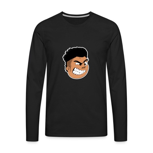 RosSTube Face - Men's Premium Long Sleeve T-Shirt