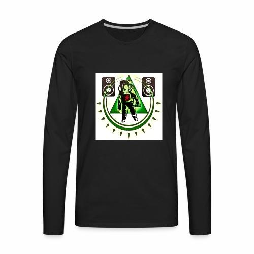 Chaos The Spaceman Logo - Men's Premium Long Sleeve T-Shirt