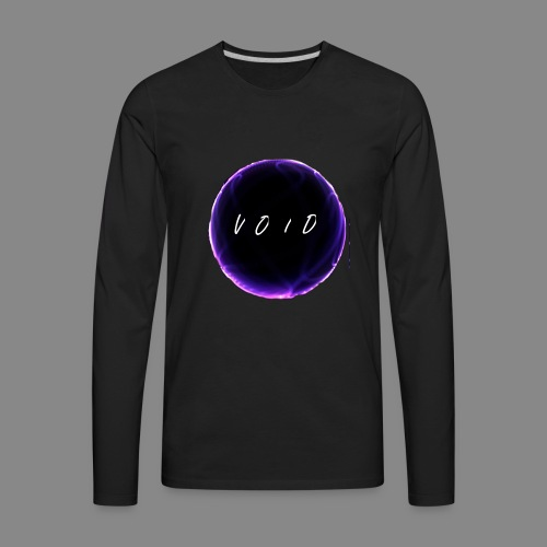 VOID CIRCLE LOGO - Men's Premium Long Sleeve T-Shirt