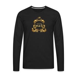 Mister Mag Merchandise - Men's Premium Long Sleeve T-Shirt