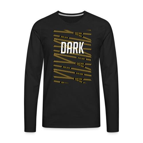 Police Tape - Men's Premium Long Sleeve T-Shirt