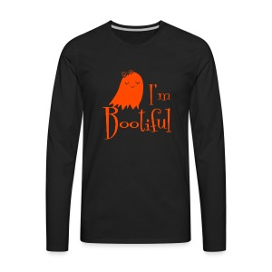 Halloween Bootiful - Men's Premium Long Sleeve T-Shirt