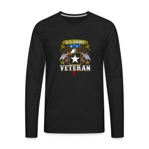 US military Veterans - Men's Premium Long Sleeve T-Shirt