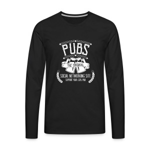 Pub - Social Networking - Men's Premium Long Sleeve T-Shirt