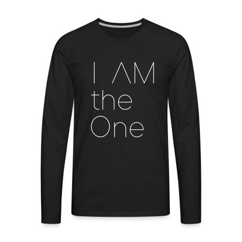 I am the One - Men's Premium Long Sleeve T-Shirt