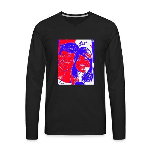 Happy Couple by Zon - Men's Premium Long Sleeve T-Shirt
