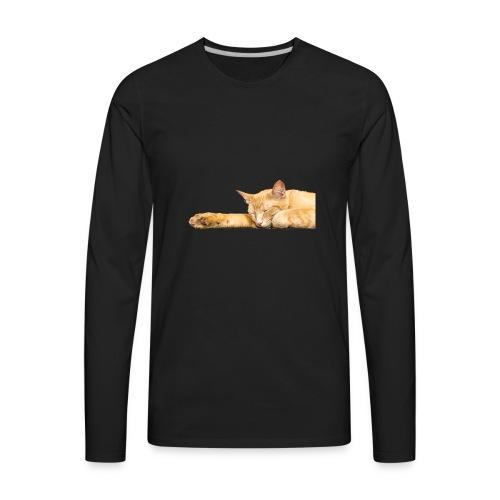 Cat Nap - Men's Premium Long Sleeve T-Shirt