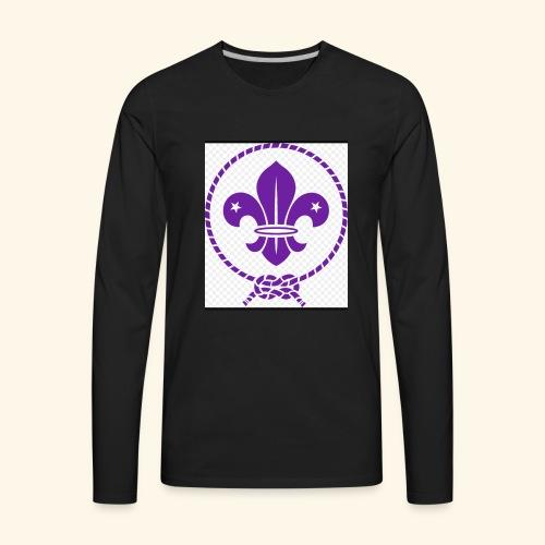 Flor de lis - Men's Premium Long Sleeve T-Shirt