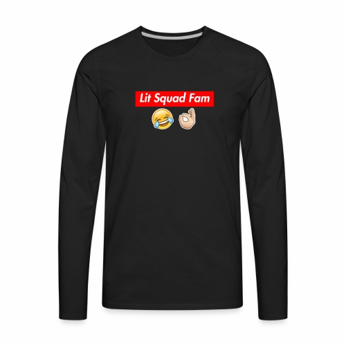 Lit Squad Fam - Men's Premium Long Sleeve T-Shirt