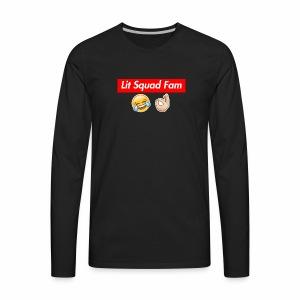 Lit Squad Fam - Men's Premium Long Sleeve T-Shirt