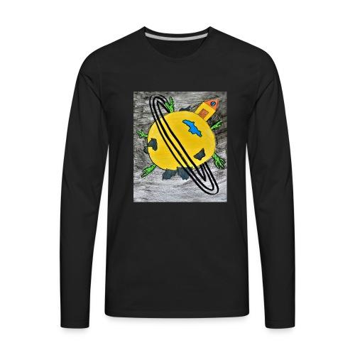 desert planet - Men's Premium Long Sleeve T-Shirt