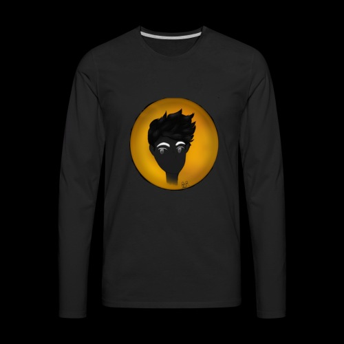 O.z/Yellow from Monster Prom - Men's Premium Long Sleeve T-Shirt